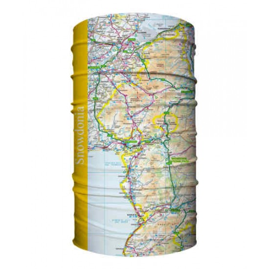 Snowdonia Wearable Map